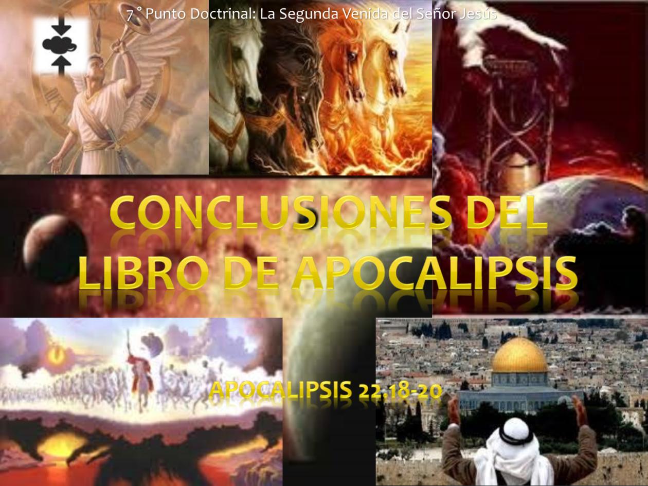 Conclusiones del Libro de Apocalipsis.